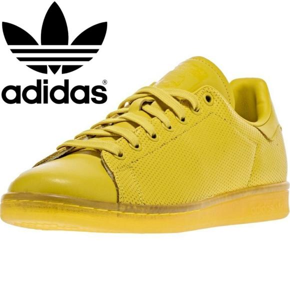 New Adidas Stan Smith Adicolor Yellow